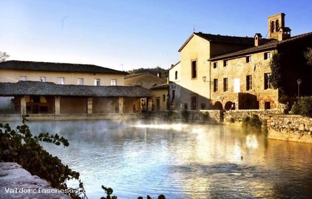Val d 39 orcia senese for O bagno vignoni